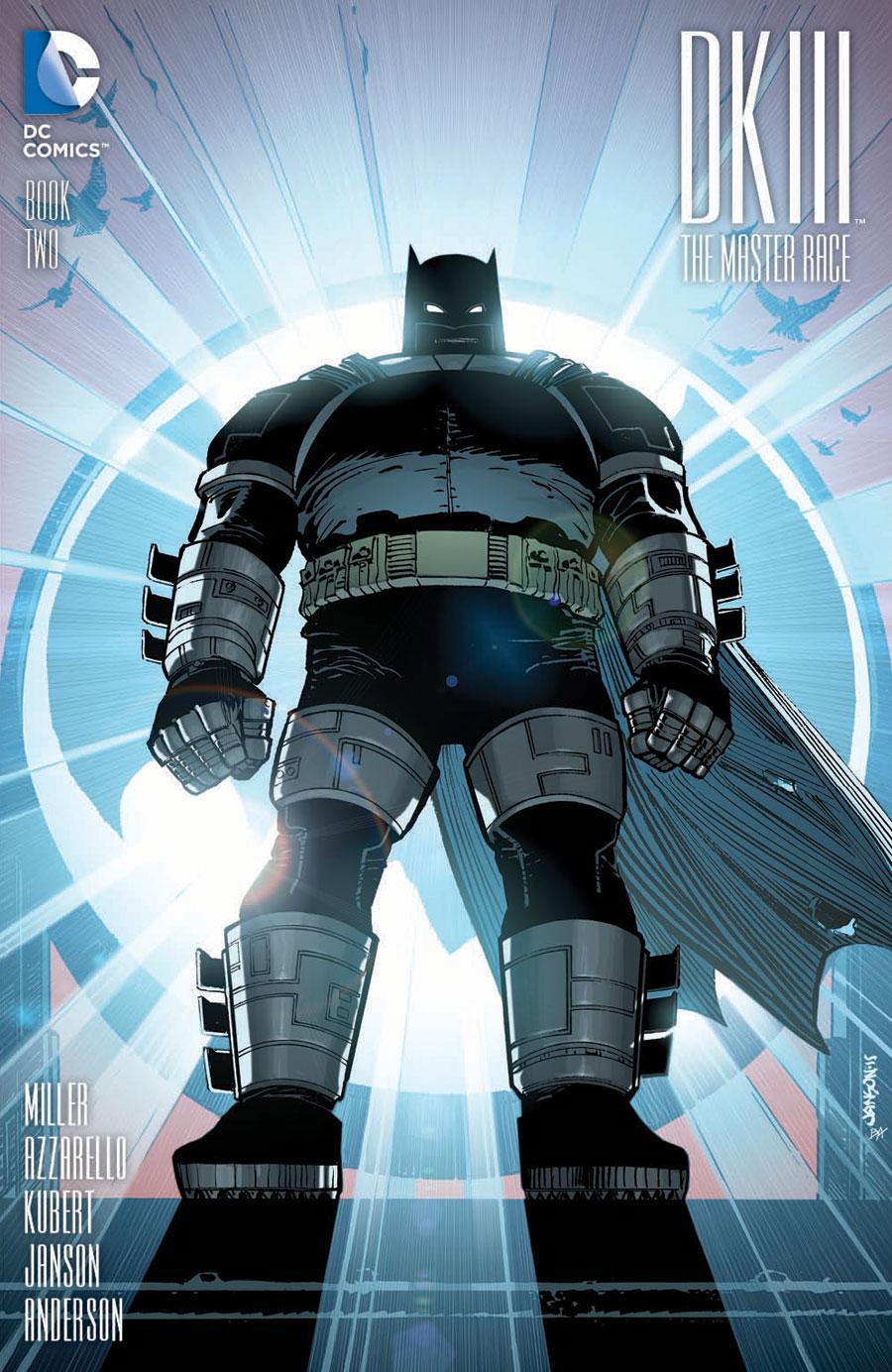 Dark Knight III #2 variant by Klaus Janson