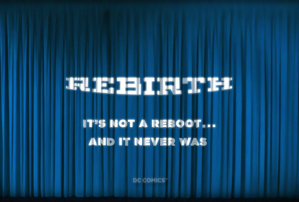Rebirth it never was